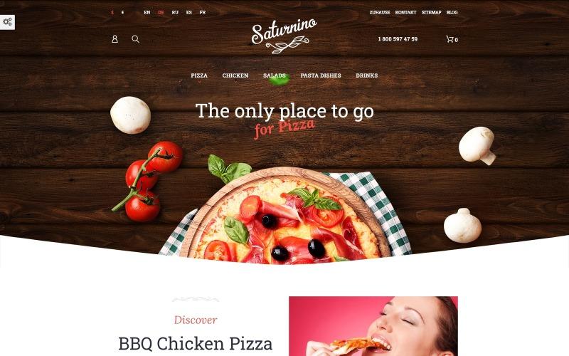 Saturnino - Pizza Restaurant PrestaShop Theme