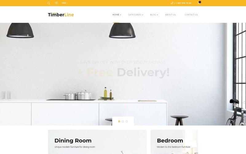 Timberline - Möbelhaus WooCommerce Theme
