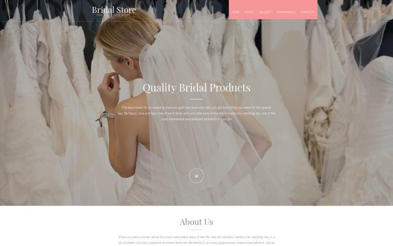 Wedding Shop Moto CMS 3 Template