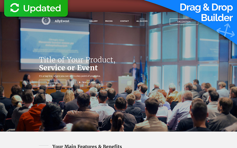 Business & Services Landing Page Template