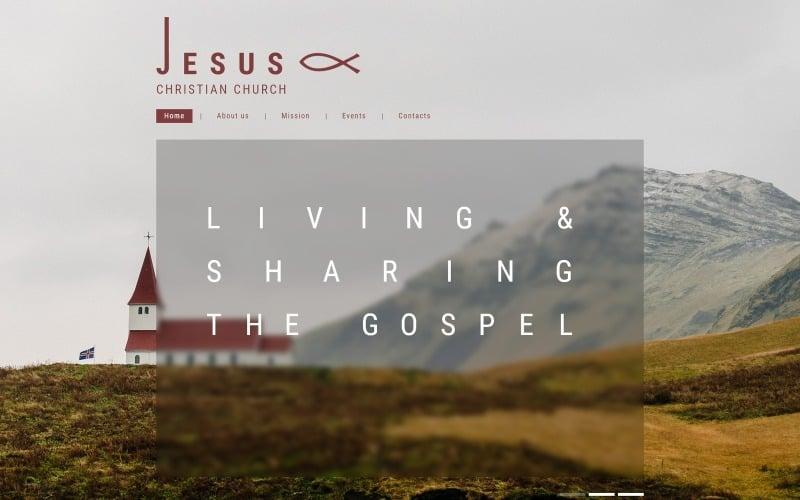 Christian Responsive Website Template
