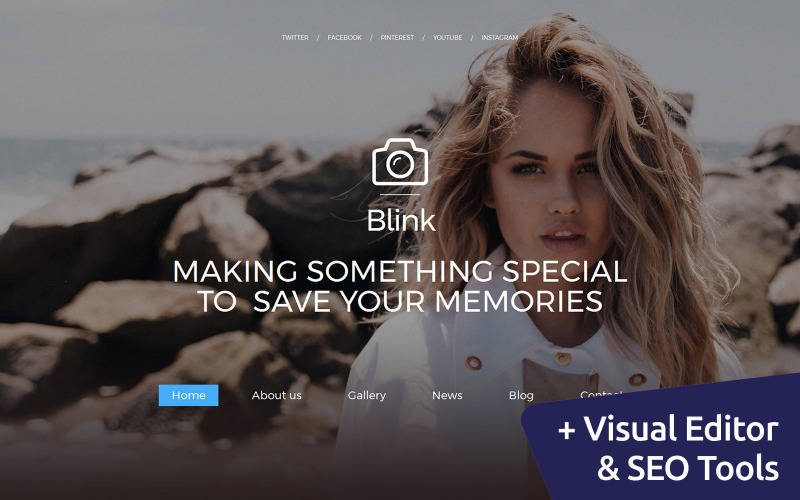 Photo Blog Photo Gallery Template