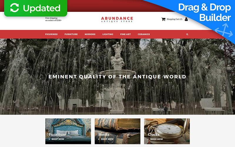 Abundance - Antique Responsive MotoCMS Ecommerce Template