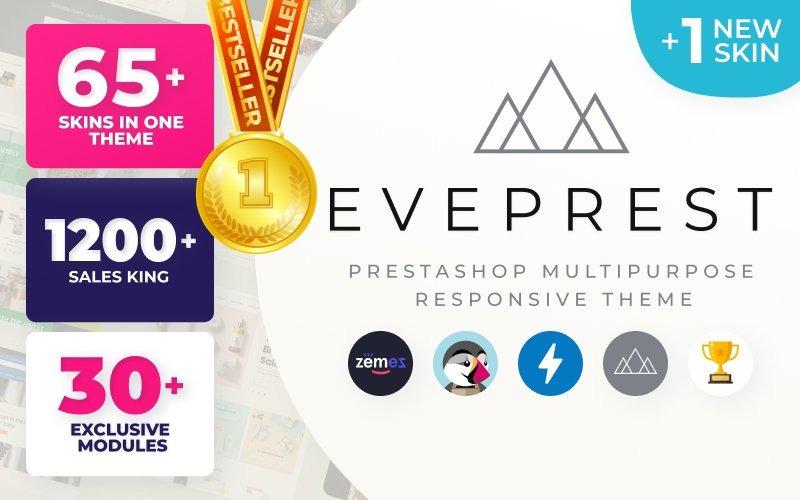 Eveprest - Многоцелевой шаблон электронной коммерции PrestaShop Theme