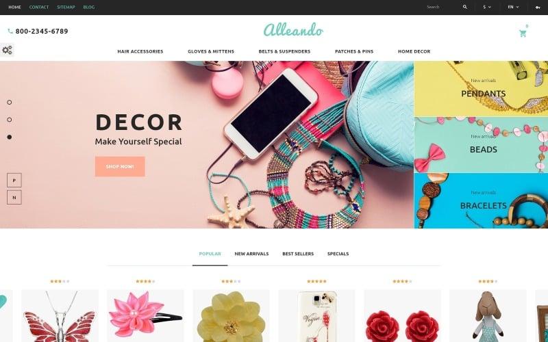 Alleando - Decor  Accessories Responsive PrestaShop Theme