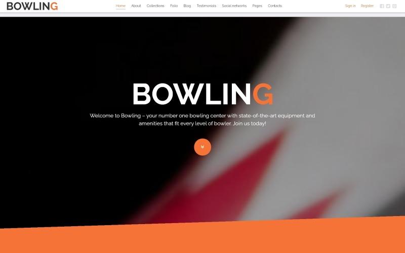 Bowling Joomla Template