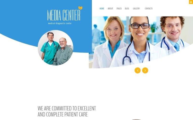 Diagnostic - Modèle Joomla de centre de diagnostic médical