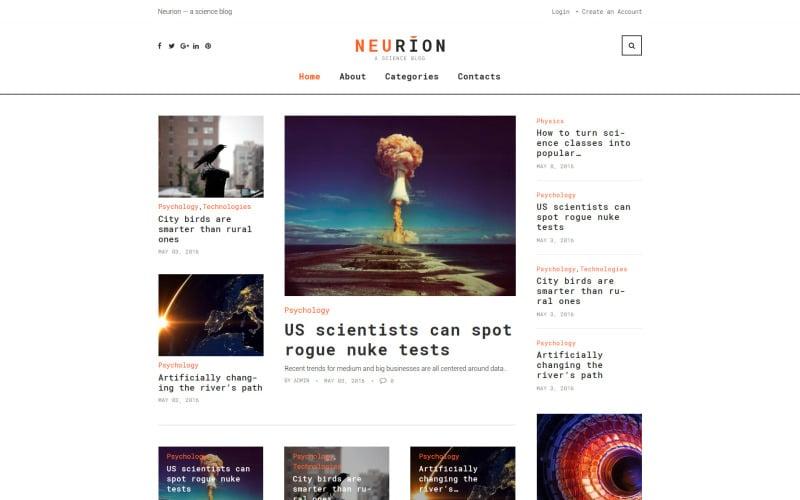 Neurion Website Template