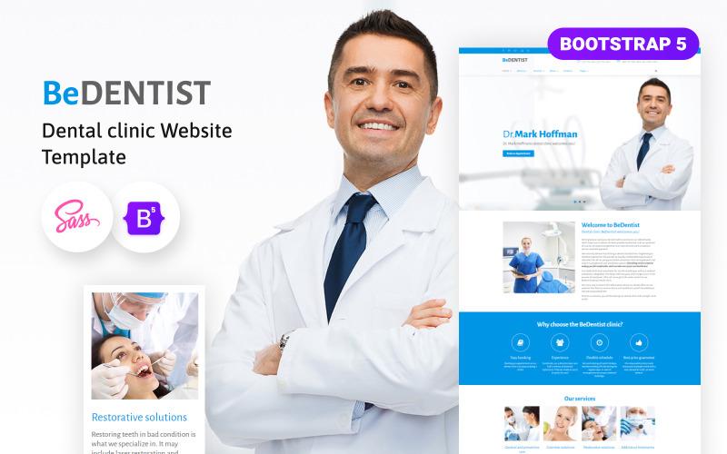 Plantilla de sitio web BeDentist