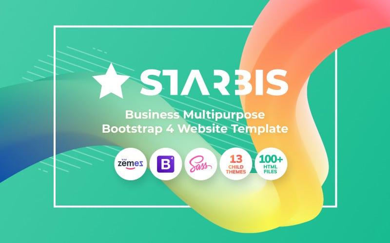 Starbis - Business Multipurpose Bootstrap 4 Szablon strony internetowej