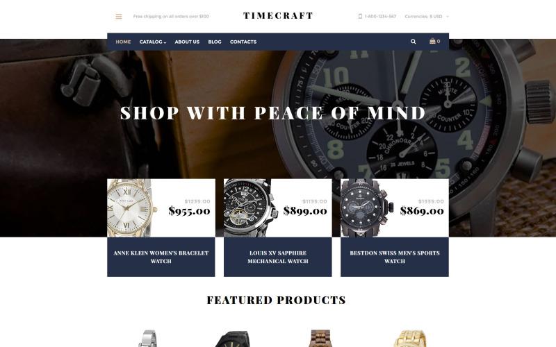 Timecraft VirtueMart-sjabloon