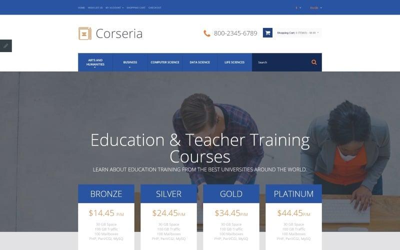 Career Education Responsive OpenCart Template