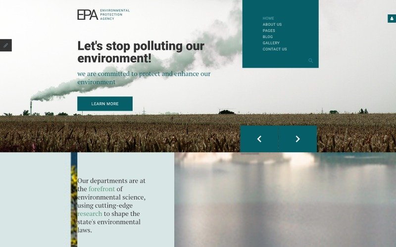 EPA Responsive Joomla Template