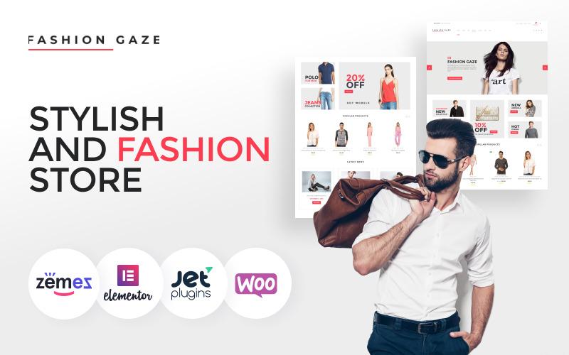 Fashion Gaze - Thème WooCommerce pour magasin de vêtements