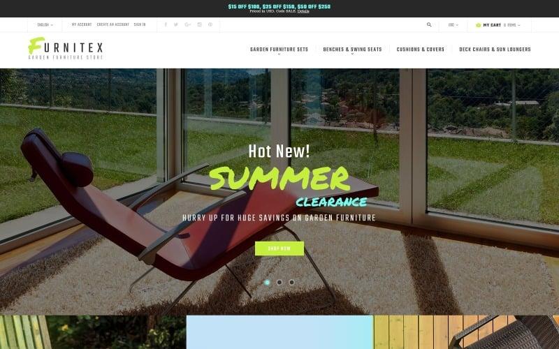 Furnitex - Furniture Responsive Magento Theme