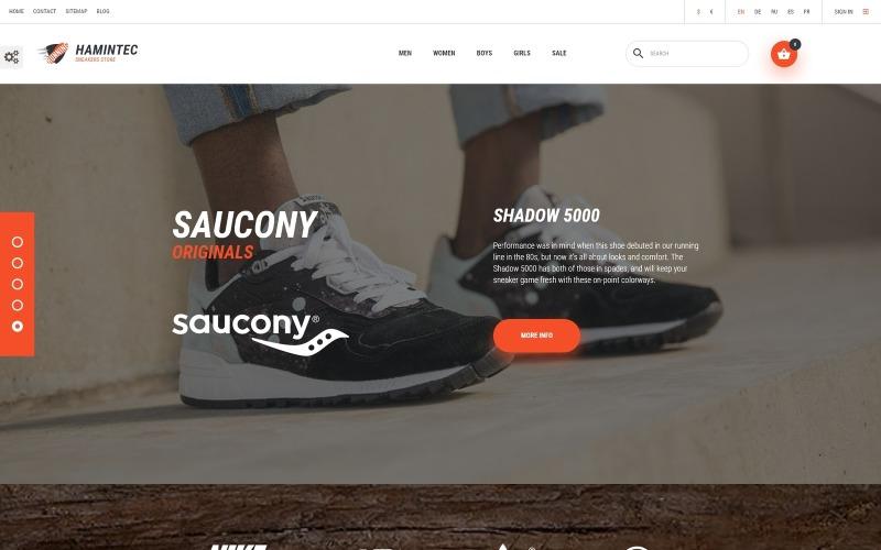 Hamintec-运动鞋店PrestaShop主题