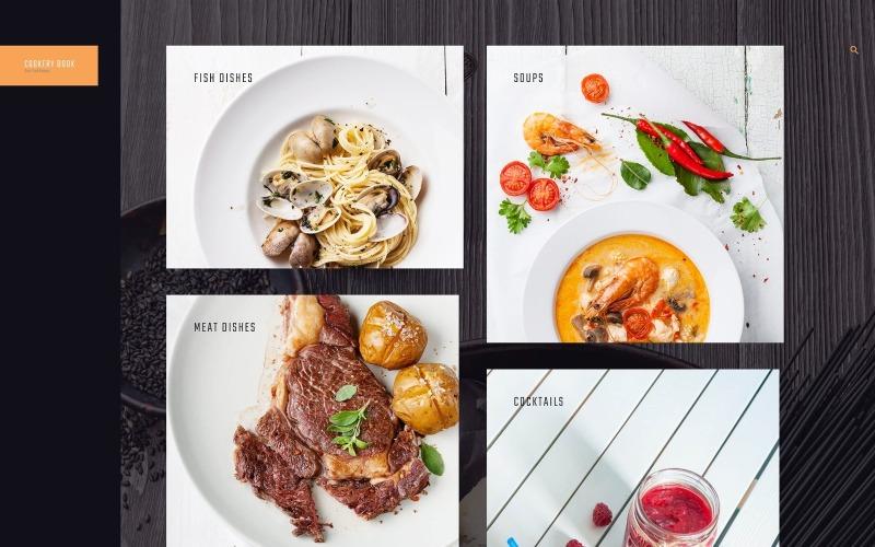 Szakácskönyv - nyugták és főzés WordPress téma
