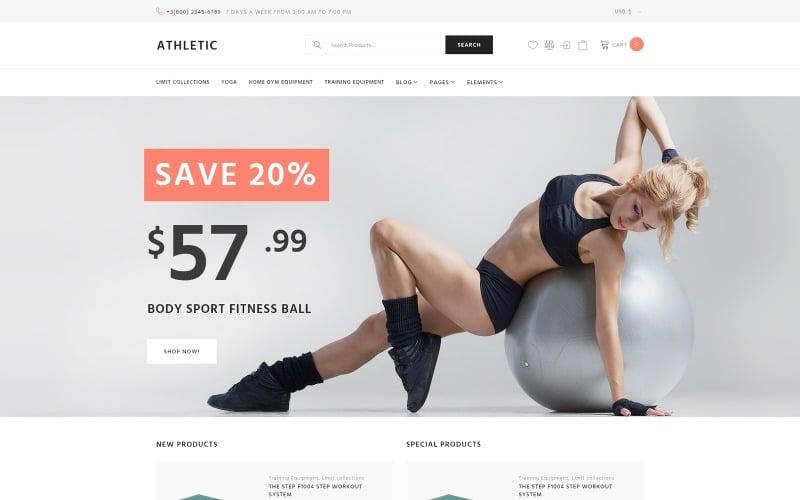 Athletic - Sports Store WooCommerce Theme