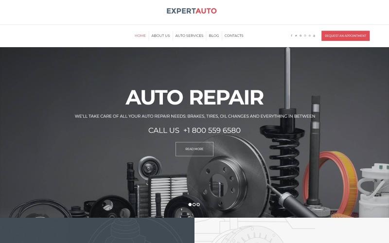 ExpertAuto - тема WordPress для механиков