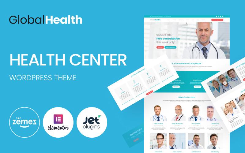 GlobalHealth - Doctor & Medical WordPress Theme