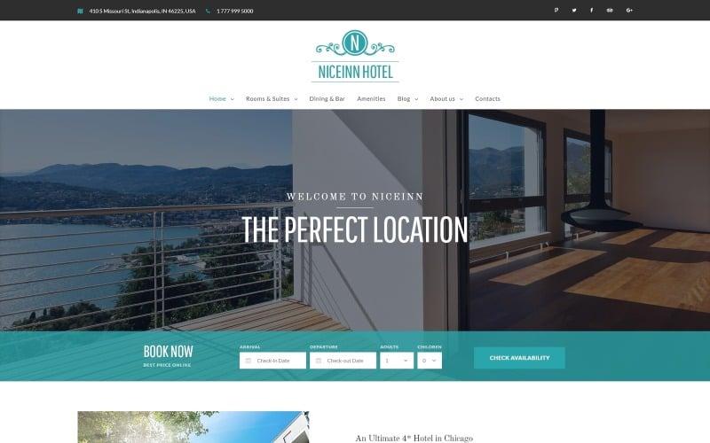 NiceInn - Malý hotel WordPress reagující na téma