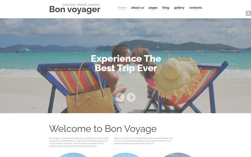 Bon Voyage - Адаптивний шаблон Joomla - туристичне агентство та планування відпусток