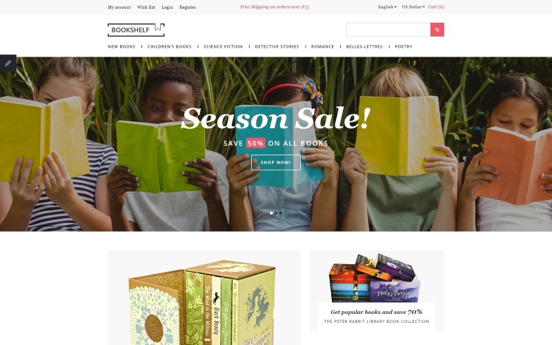 Books Responsive OpenCart Template