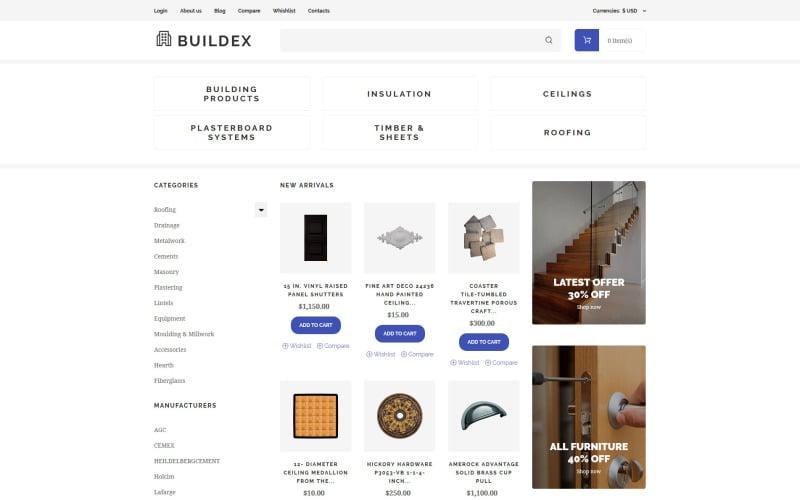 Building Materials VirtueMart Template