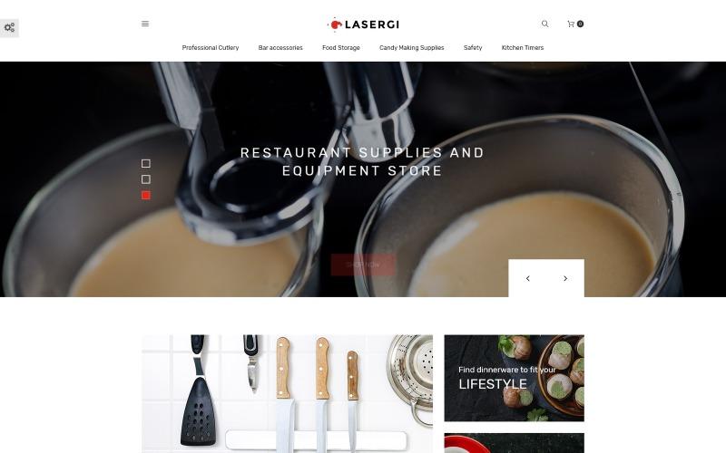 Glasergi - Tencere ve Gereçler PrestaShop Teması