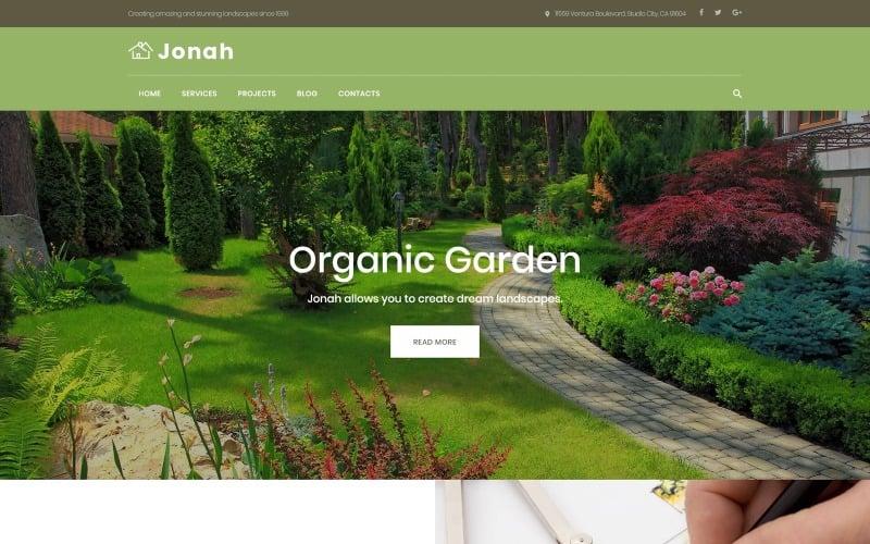Jonah - Landscape Design and Lawn Mowing WordPress Theme