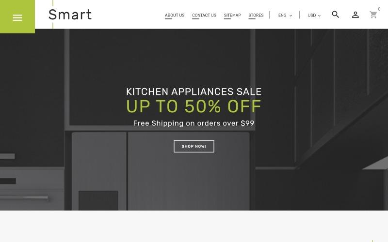 Smart - Gadgets & Electronics PrestaShop Theme