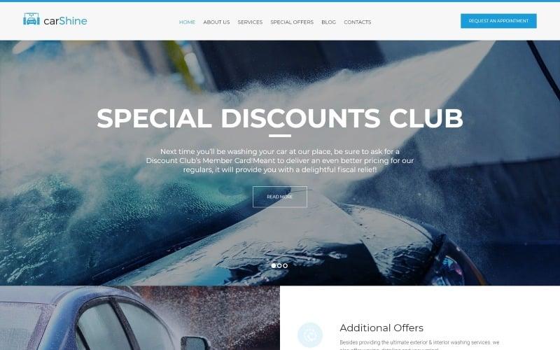 CarShine - Car Wash WordPress Theme
