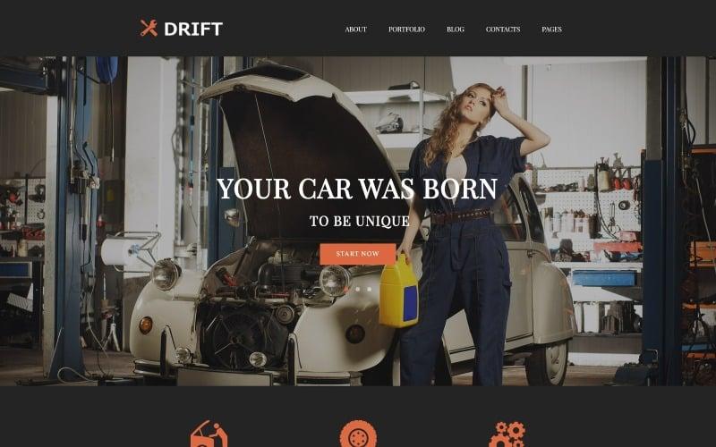 Drift - тема WordPress для автосервиса