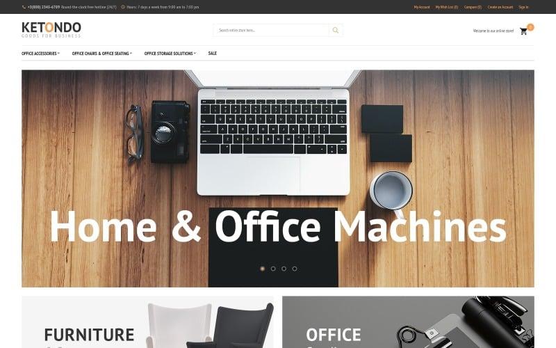 Ketondo - Office Supplies Magento Theme