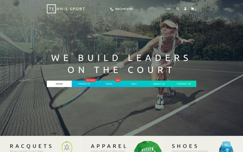 Tennis Sport - Sportkläder och tennisartiklar Shopify Theme