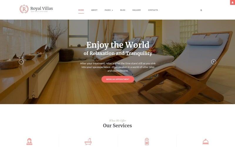 Royal Villas - Spa Resort & Hotel Responsive Joomla Template