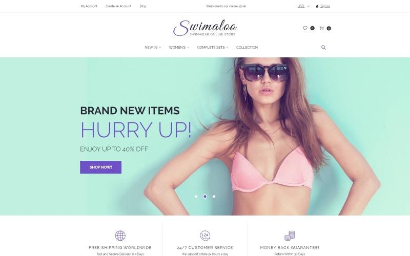Swimaloo - Swimwear Online Store Magento Theme