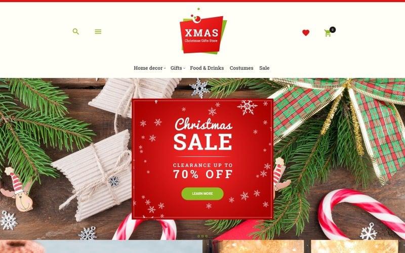Xmas - Christmas Gifts Store Responsive Magento Theme