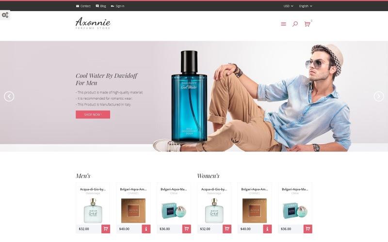 Axonnie - Perfume Store PrestaShop Theme
