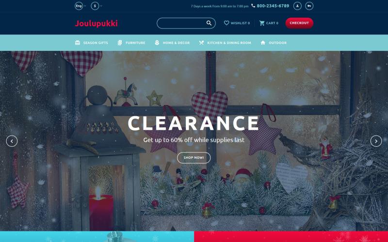 Christmas Responsive OpenCart Template
