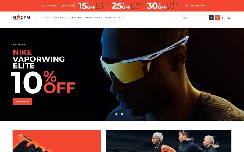 MyGym - Sports Training Gear Store Theme Magento Theme