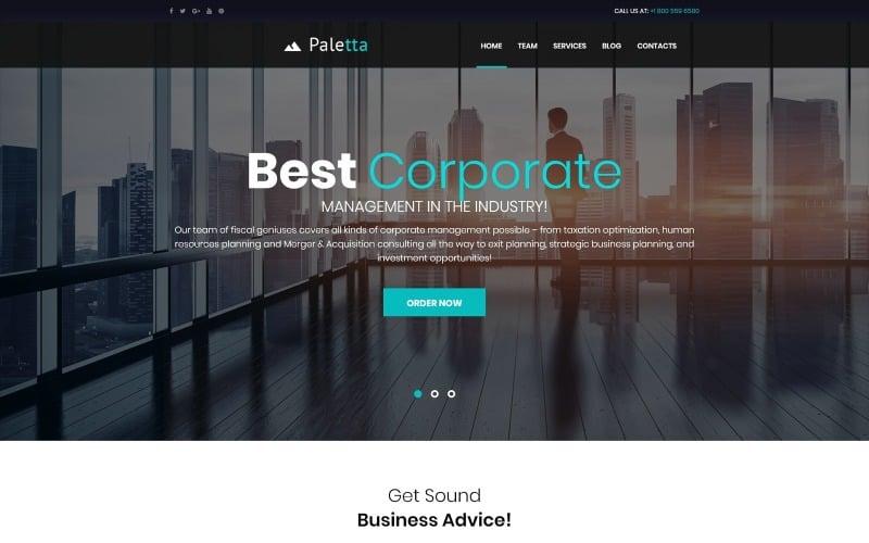 Paletta - Corporate & Business WordPress Theme