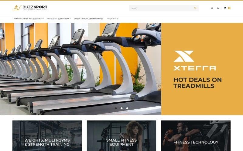 BuzzSport - Gym Equipment Magento Theme