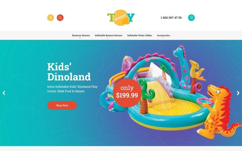 Inflatable Toys Magento Theme