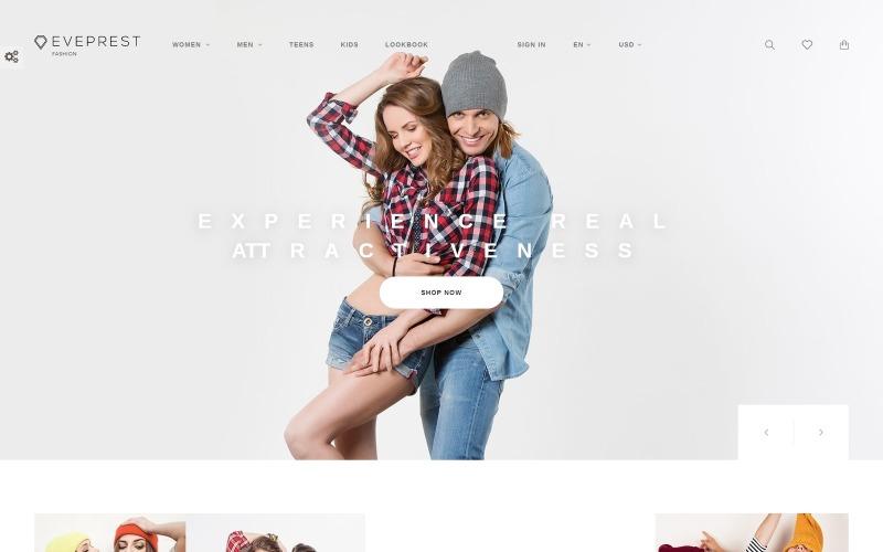 Eveprest - Fashion Boutique PrestaShop Thema
