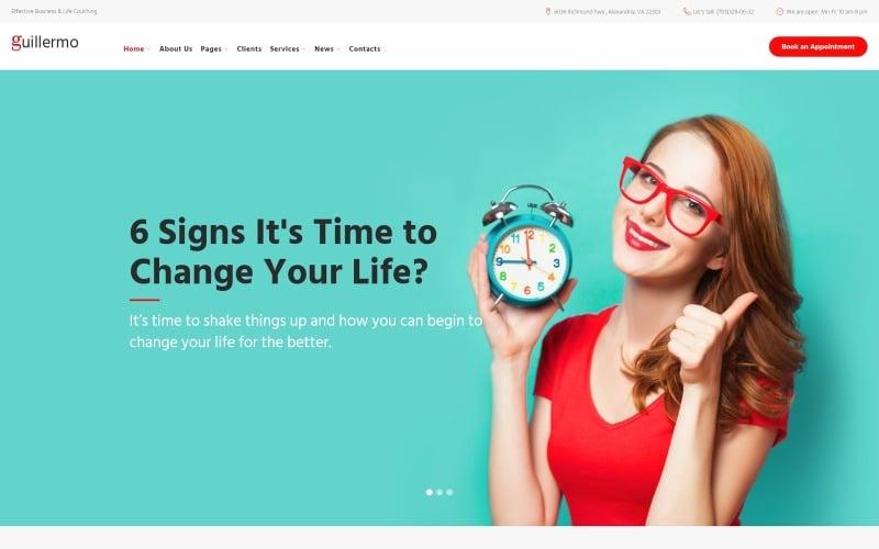 Guillermo - Life & Business Coaching WordPress Theme