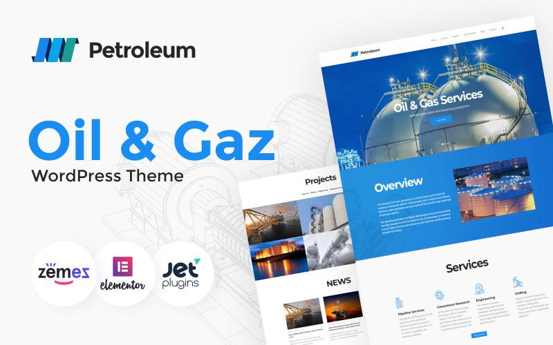 Petroleum - Oil & Gas Company Responsive WordPress Theme