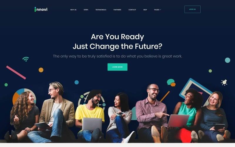Startup & Creative Digital Agency WordPress Theme