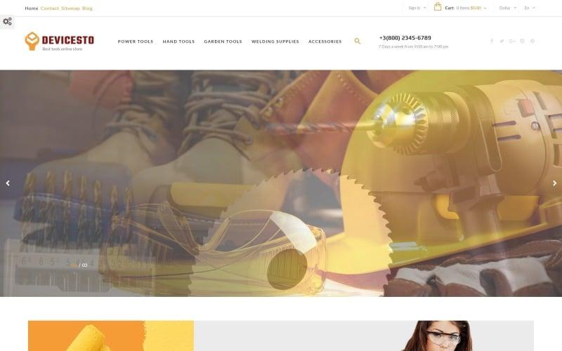 Devicesto - Tools and Supplies Store PrestaShop Theme
