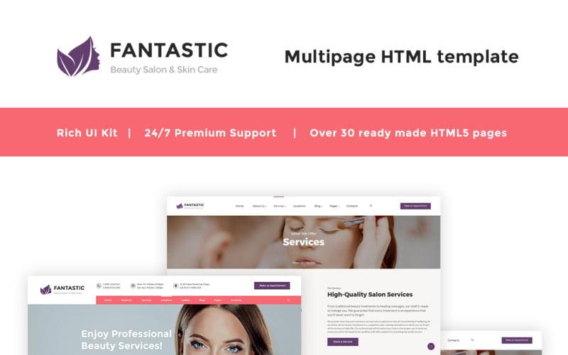 Fantastic - Beauty Salon Website Template